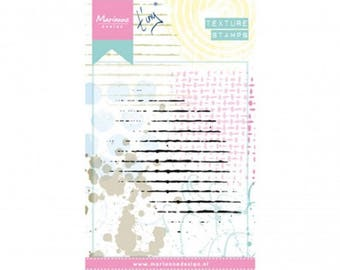 Stamp clear Marianne Design, Texture Stamps, Texture pattern, mixed media, Scrapbooking, Cardmaking, crafting