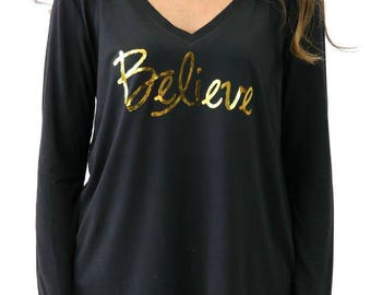 Believe Long Sleeve Flowy