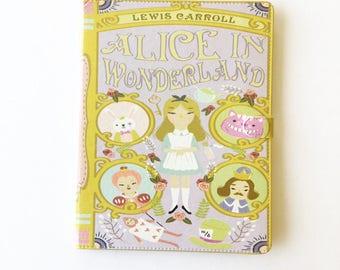 Alice in Wonderland Book iPad, iPad mini, iPad Air, iPad Pro case