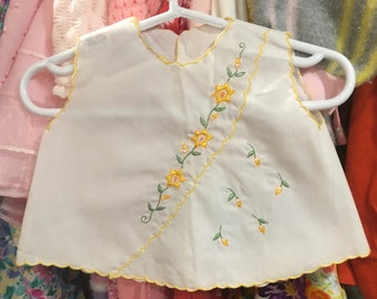 60s Baby Dress 0/3 Months
