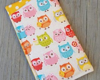Eyeglass case - little owls