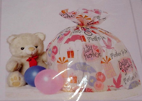 Baby Shower Giant Gift Bag Extra Large Plastic Gift Sack 4