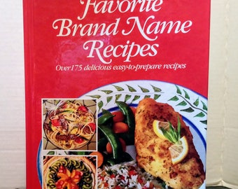 Food Digest Favorite Brand Name Recipes Cookbook 1994 by Kathleen Perry The Everyday Gourmet