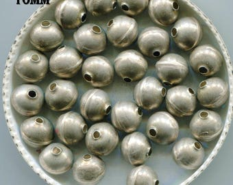 Navajo Sterling Bench Made Round Pearl Beads SS332.SS333.SS334.SS338.SS341R.SS347.SS352.SS355.SS359