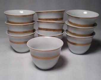 PRC Dezain Germany Miniature Cups (10) in pristine condition