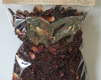Dried Hibiscus Flower/Herbal Infusions/Herbal Teas/Beauty Supplies/Pagan Herbs/Witch Supply/Dried Herbs and Spices/Faerie Herbs