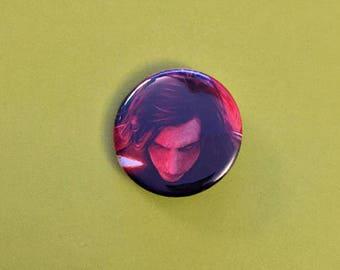 Kylo Ren Star Wars Upcycled Pinback Button