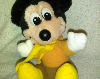 Mickey Mouse Scrooge Plush - 7 inch