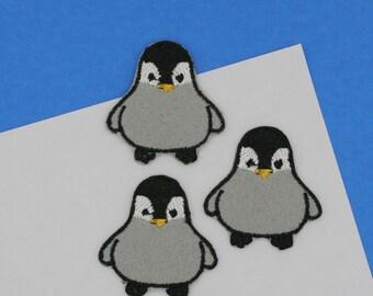 Mini Penguin Patch (2 colors option)