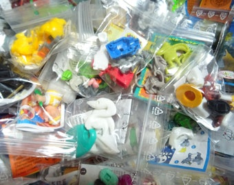 85 Toys from Kinder Surprise Eggs Party Supplies Gifts Prizes Pinata Lottery