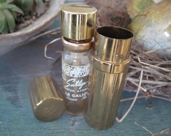 Vintage Sortilege Le Galion Atomizer Purse Travel Size Perfume France