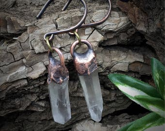 Quartz Ear Plug | Gauge Earrings | Quartz Gauges