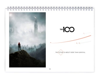 The 100 / Season3 - 2018 Calendar