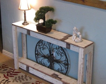 SALE Farmhouse Sofa Table 46x8x28 and other sizes