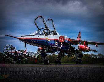 RAF Jaguar & Harrier