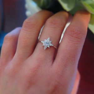 Sparkle Starburst ring