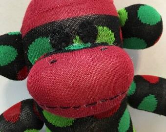 Jules the Baby Friendly Sock Monkey