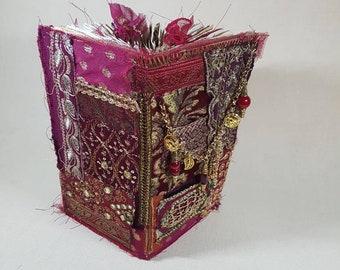 Bohemian, Gypsy junk journal, travelers notebook size