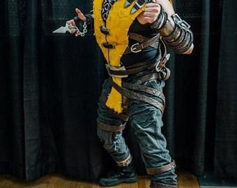 Full Mortal Kombat X Scorpion Cosplay