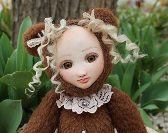 Doll - Art Bears OOAK doll