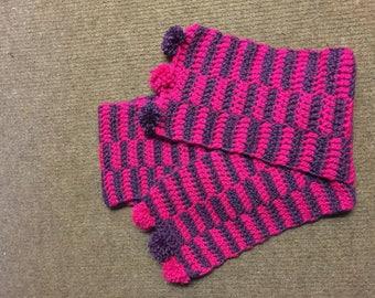 Ladies crochet scarf