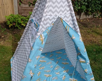 Made to order Teepee tent for children