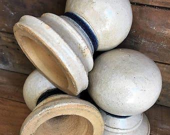 Unique Vintage Ceramic Stair Post Tops Baltimore Architecture Salvage Insulators