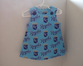 Little Girls' Kansas City Royals Dress