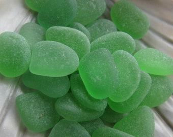 Green Beach Glass, Jewelry Supply, Beach Glass Lot, Genuine Beach Glass, Quality Sea Glass Bulk Jewelry Suppl