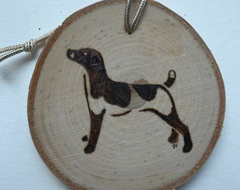 Dog ornament Jack Russel Terrier