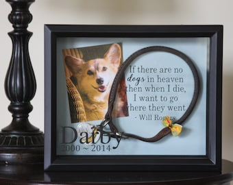 Pet Memorial, Dog Memorial, Dog, Pet Memorial Shadow Box, Dog Shadow Box, Shadow Box, Cat Memorial, Dog Memorial Shadow Box, Pet, 8x10