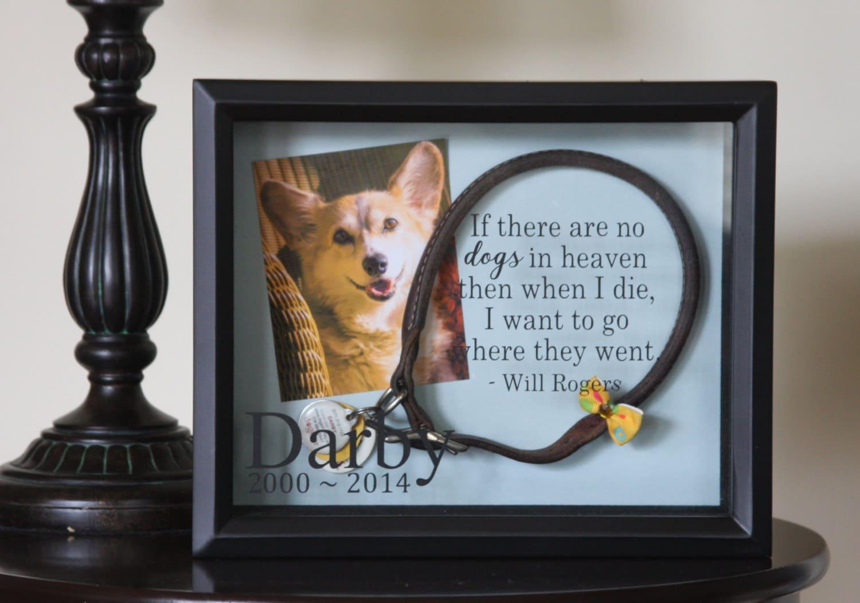 Pet Memorial Dog Memorial Dog Pet Memorial Shadow Box Dog