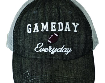 Gameday Everyday Football Hat WAS 19.95 NOW 11.97