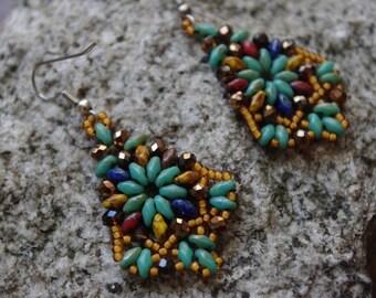 Boho Earrings|Chandelier Earrings|Southwestern Earrings|Boho Jewelry|Gifts for Her