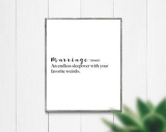 Instant Download Printable Art, Downloadable Art, Quote Print, Printable Wall Art, Digital Download Art, Marriage Quote, Wedding gift