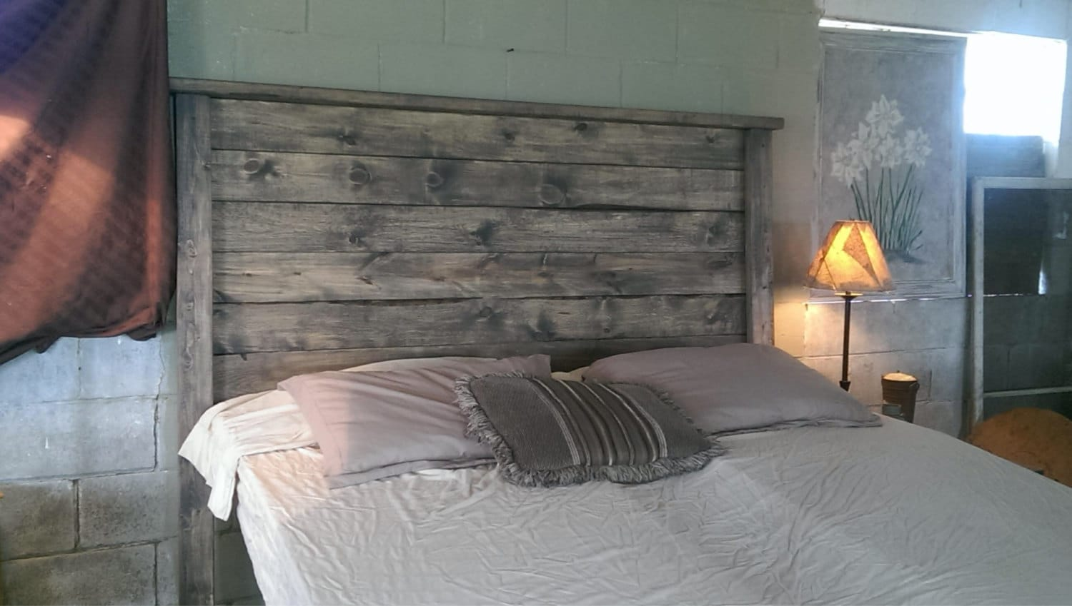 in unique twin regarding reclaimed amazing size contemporary gray stylish weathered wood to headboard pertaining