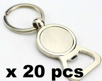 20 bottle opener keychain to personalize