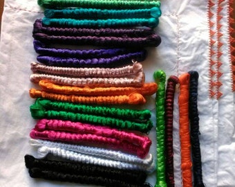 Natural sabra thread - silk plant - different colors available.
