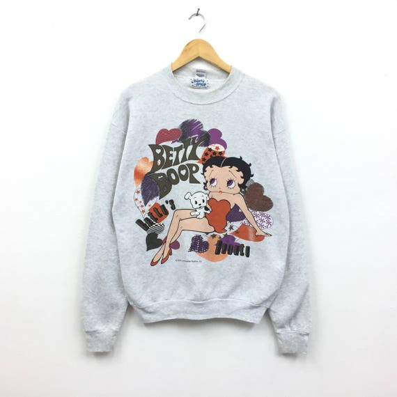 Vintage Sweatshirt Cartoon mouse /tag HEAVY fruit Of the Loom/made in USA LUuxwoMZjZ