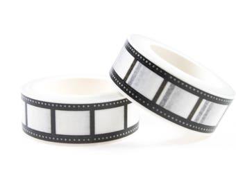 Cinema black and white washi tape