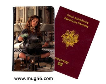 hermione harry potter - 02-015  passport cover holder