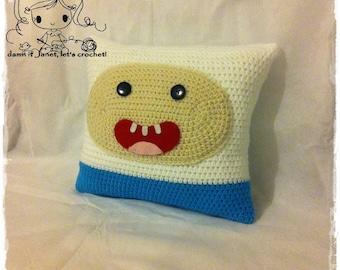 Finn the Human Pillow - PDF Crochet Pattern - Instant Download