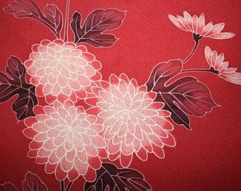 Vintage Japanese Kimono Silk Fabric