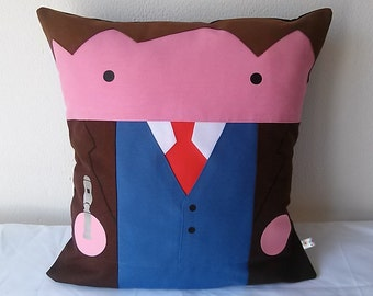 10th Doctor Who David Tennant inspired Cushion cover 40x40 cm 16x16 inches