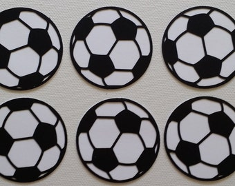 Soccer Die Cut set of 6