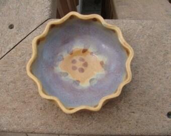 Ruffled Trinket Bowl