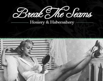 Vintage High Quality White Lattice Stockings Tights Pantyhose