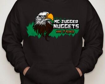 MCJUGGERNUGGETS EAGLE Hooded Sweatshirt