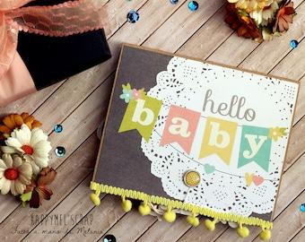 Pop Up card-baby new born