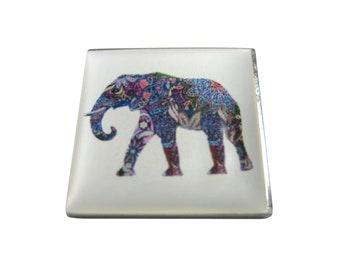 Colorful Elephant Magnet